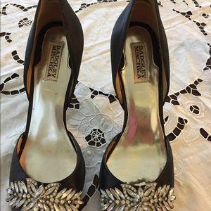 Badgley Mischka crystal High Heels